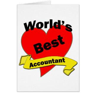 O melhor contador do mundo cartao