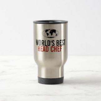 O melhor cozinheiro chefe principal do mundo caneca térmica