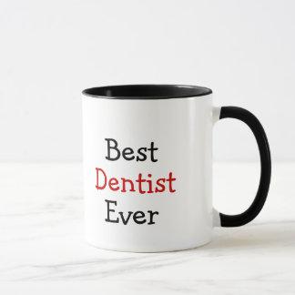 O melhor dentista nunca caneca