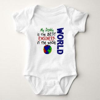 O melhor engenheiro no mundo 2 (pai) body para bebê