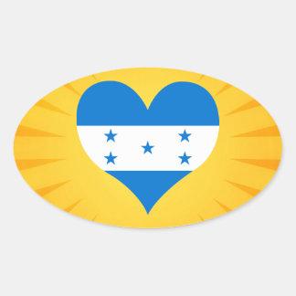 O melhor Honduras bonito de venda Adesivo Oval