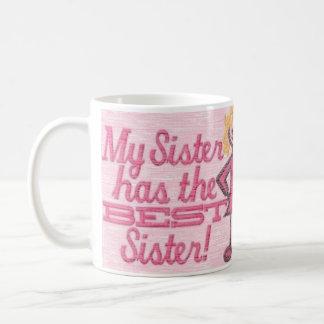 o melhor humor da irmã caneca