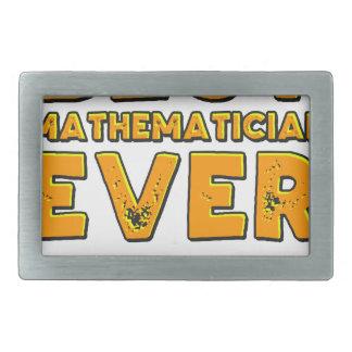 O melhor matemático nunca