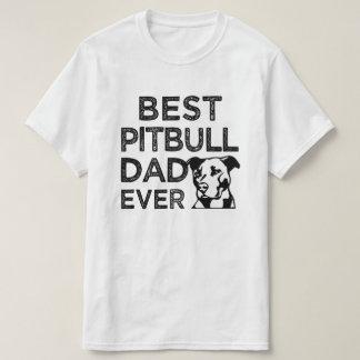 O melhor pai de Pitbull cada camisa engraçada dos