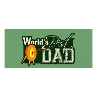 O melhor pai do mundo; Tiro ao arco 10.16 X 22.86cm Panfleto