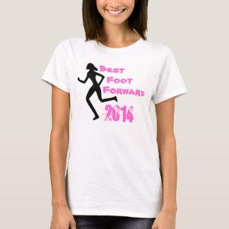 O melhor pé das mulheres envia a camisa de 2014 T