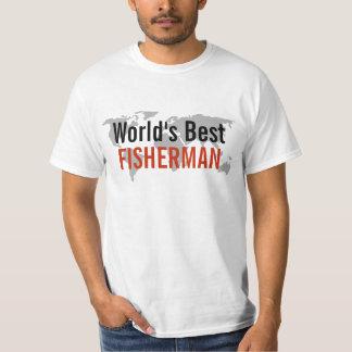 O melhor pescador do mundo tshirts