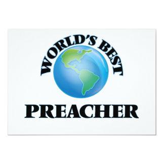O melhor pregador do mundo convite 12.7 x 17.78cm