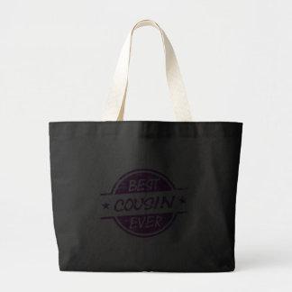 O melhor primo sempre roxo bolsas para compras