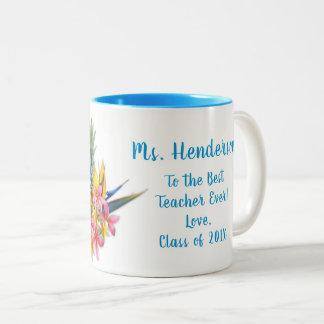 O melhor professor da caneca havaiana das flores