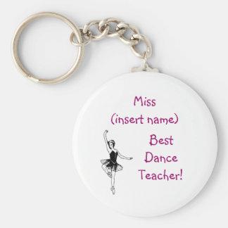 O melhor professor da dança! - chaveiro