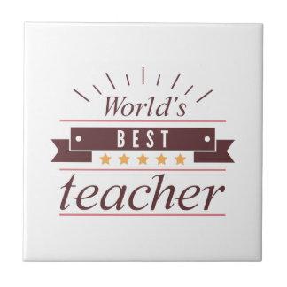 O melhor professor do mundo