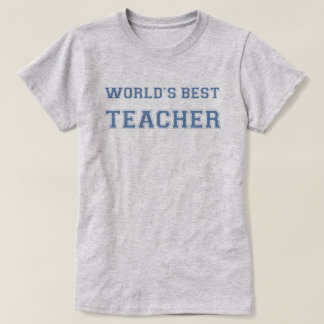 O melhor professor do mundo camiseta