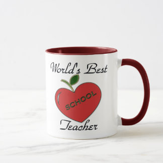 O melhor professor do mundo caneca