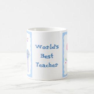 O melhor professor do mundo - pirulitos caneca de café