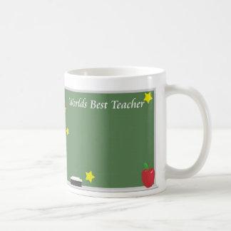 O melhor professor dos mundos caneca de café