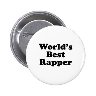 O melhor rapper do mundo botons