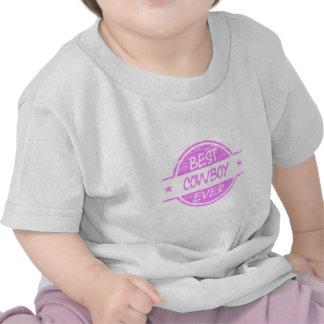 O melhor rosa do vaqueiro nunca t-shirts