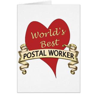 O melhor trabalhador postal do mundo