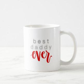 O melhor vermelho da caneca de café do pai nunca