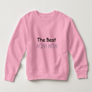 O melhores Aba e Ima - t-shirt Moletom