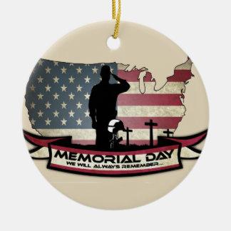 O Memorial Day original honra o ornamento do