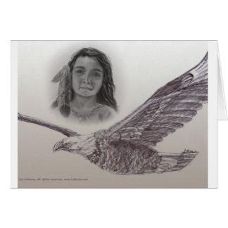 O menino que voou com cartão de Eagles