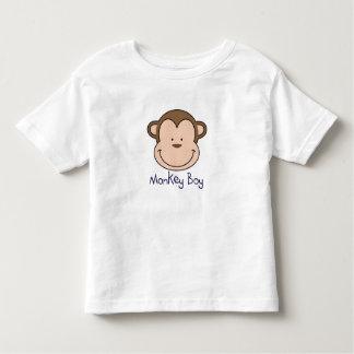 O menino T do macaco - adicione um nome! Camiseta Infantil