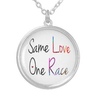 O mesmo amor, uma colar da raça