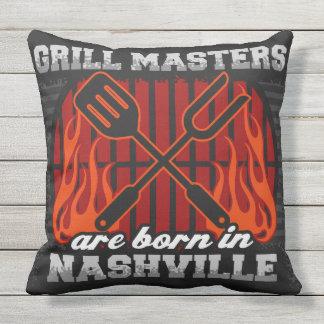 O mestrado da grade é nascido em Nashville Almofada