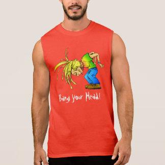O metal pesado Mosh animal de partido do HeadBange T-shirt