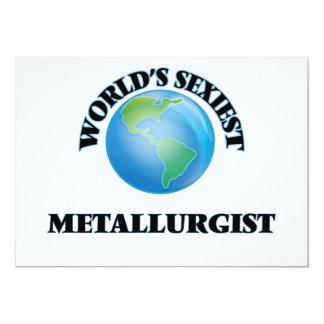 """O metalurgista o mais """"sexy"""" do mundo convite personalizado"""