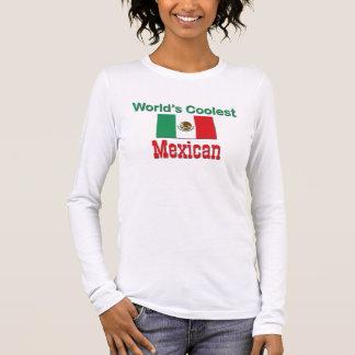 O mexicano o mais fresco camiseta manga longa