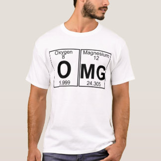 O-MG (omg) - cheio Camiseta