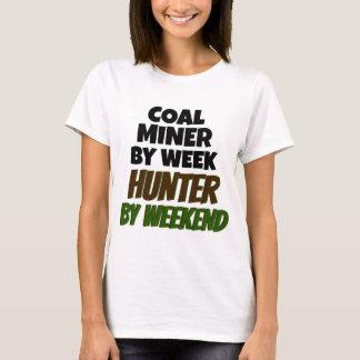 O mineiro de carvão ama caçar camiseta