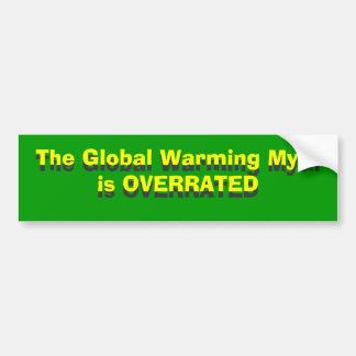 O mito do aquecimento global É AVALIADO EM EXCESSO Adesivo Para Carro