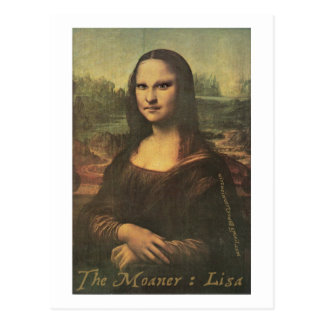 O Moaner: Lisa - cartão