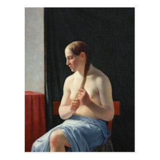 O modelo, 1839 cartão postal