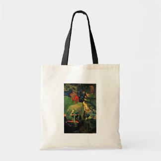 O molde por Gauguin Paul (a melhor qualidade) Bolsas De Lona