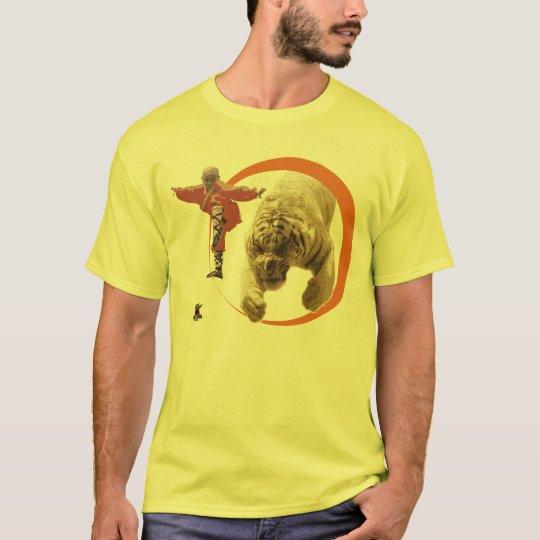 O monge e o Tigre Camiseta
