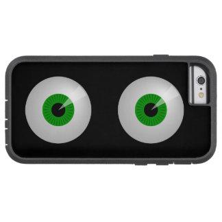 O monstro verde engraçado Eyes o caso do iPhone 6 Capa Tough Xtreme Para iPhone 6