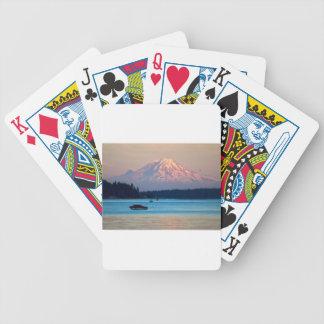 O Monte Rainier Baralho Para Poker
