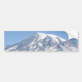 O Monte Rainier em um dia claro Adesivo Para Carro