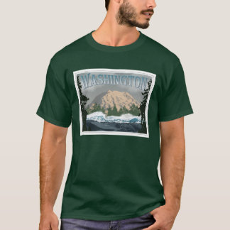 O Monte Rainier Washington Camiseta