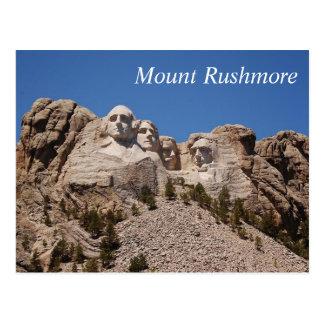 O Monte Rushmore - cartão