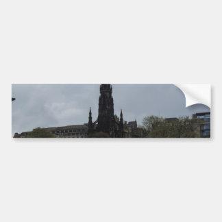 O monumento gótico de Scott em Edimburgo Adesivo Para Carro