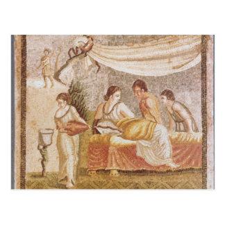 O mosaico de Centocelle Cartão Postal