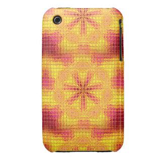 O mosaico floresce a caixa Cor-de-rosa-Amarela do Capinhas iPhone