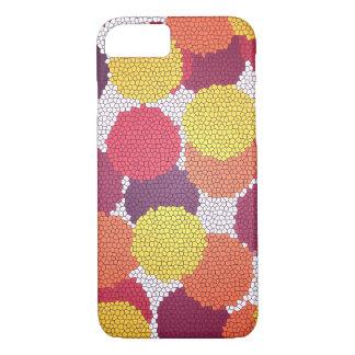 O mosaico pontilha capas de iphone