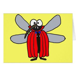 O mosquito do vampiro AF que pensa de você carda Cartão